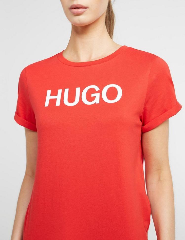 HUGO Slim Logo Short Sleeve T-Shirt