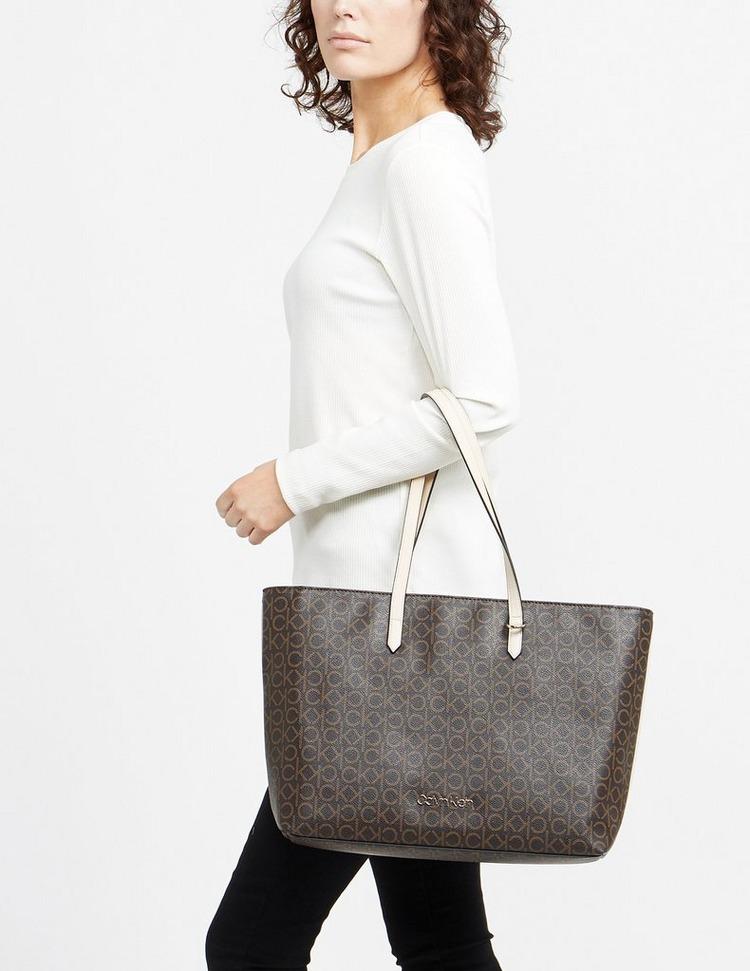 Calvin Klein Jeans Monogram Shopper Bag