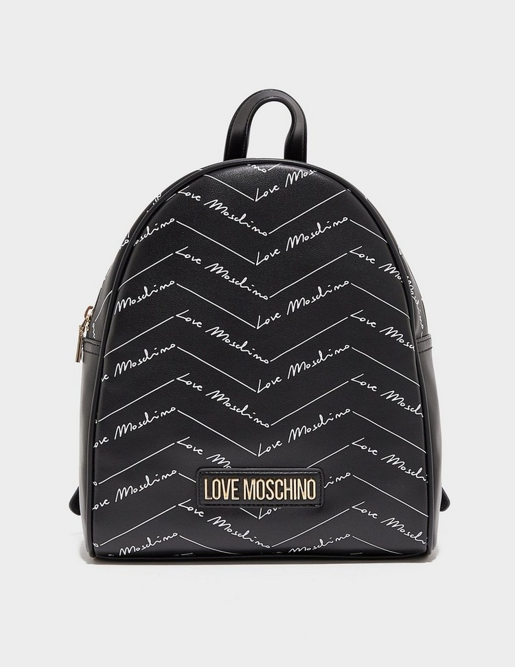 Love Moschino All Over Print Backpack