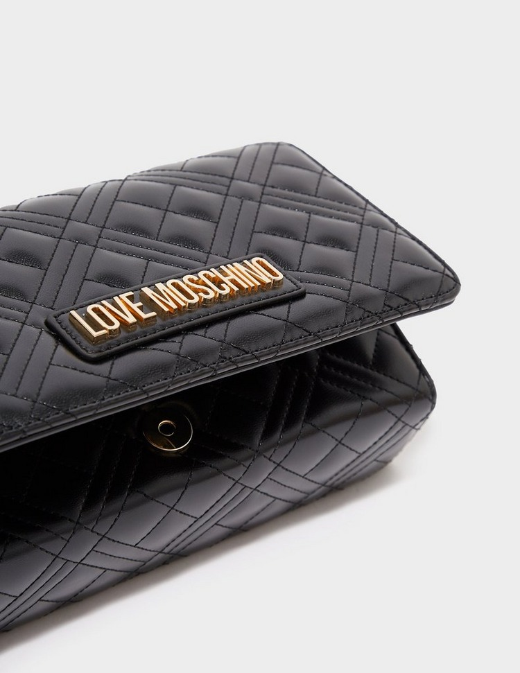 Love Moschino Small Quilted Crossbody Bag