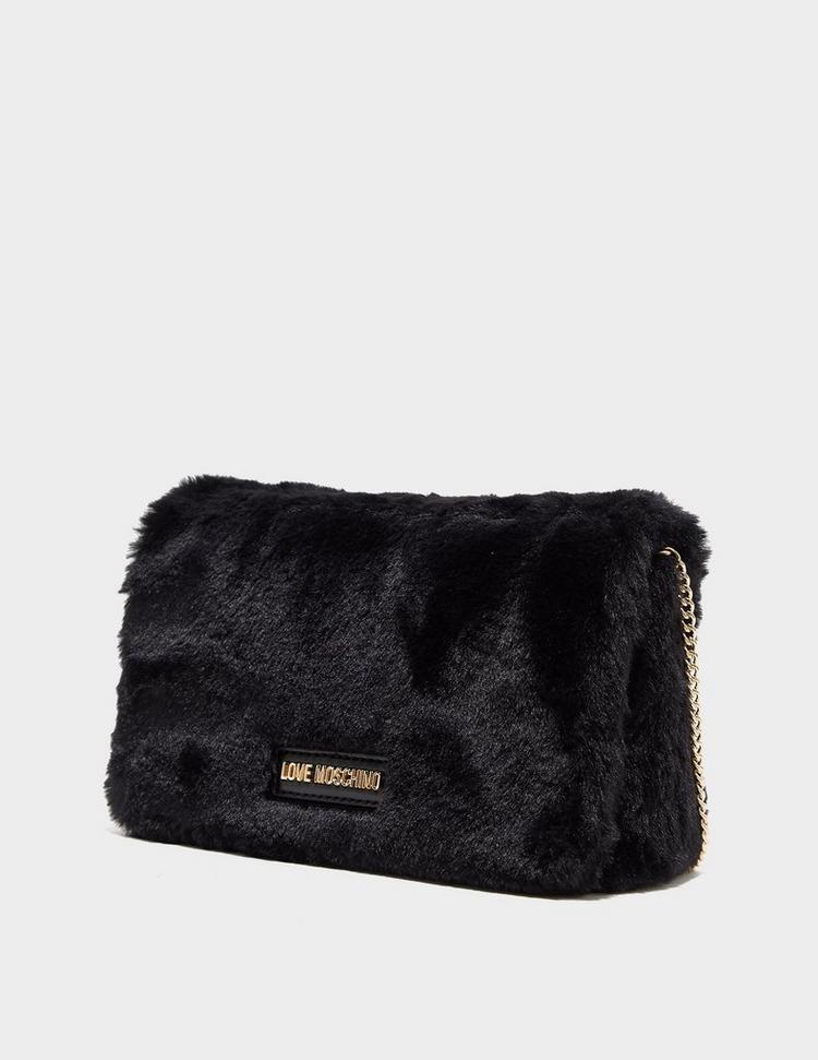 Love Moschino Teddy Fur Crossbody Bag