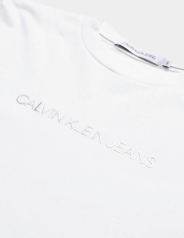 Calvin Klein Jeans Shrunken Institutional Long Sleeve T-Shirt