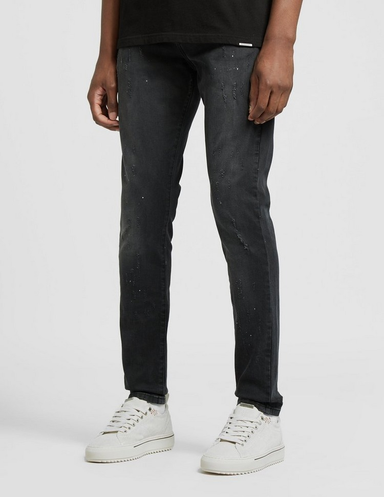 Represent Paint Skinny Jeans - Exclusive