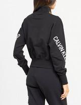 Calvin Klein Jeans Half Zip High Neck Sweatshirt