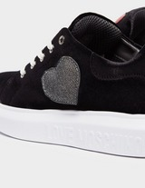 Love Moschino Velvet Trainers