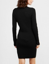 Calvin Klein Jeans Roll Neck Sweater Dress