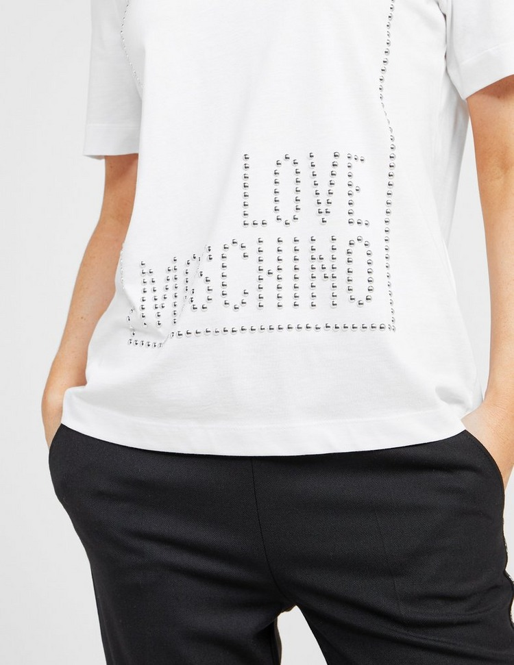 Love Moschino Stud Box T-Shirt
