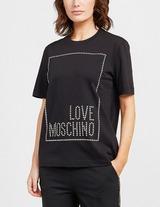 Love Moschino Stud Box T-Shirt