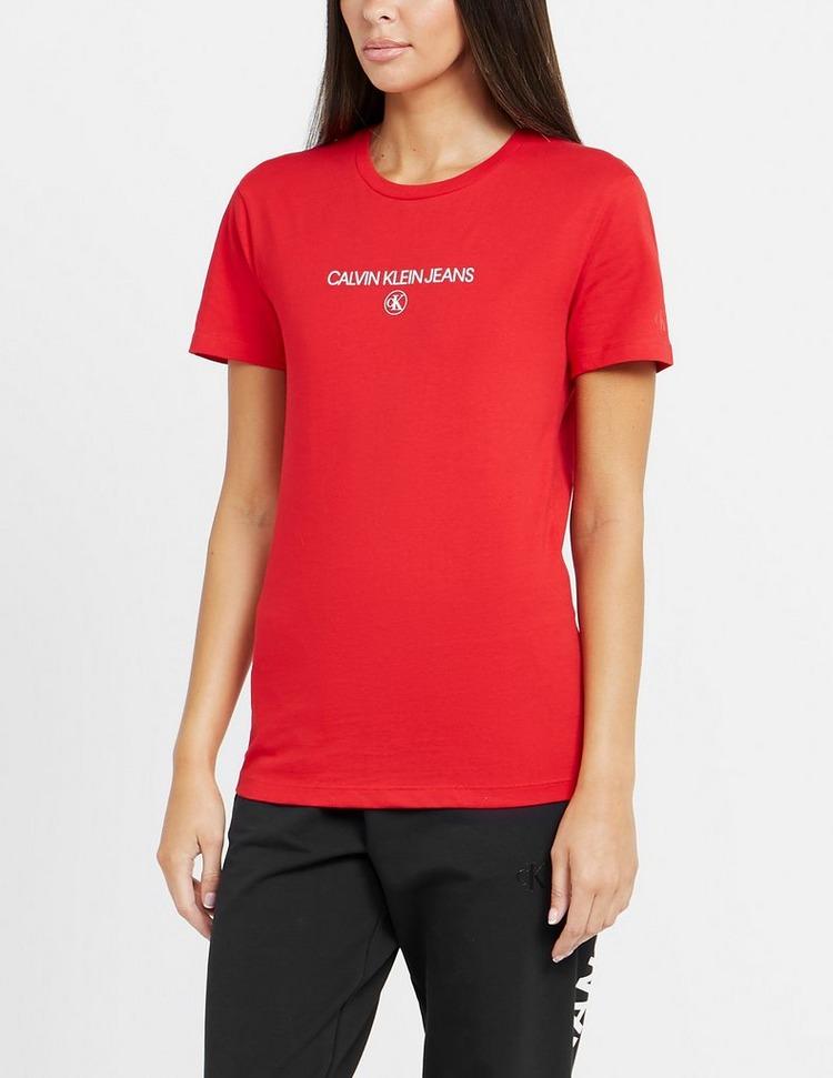 Calvin Klein Jeans Institutional Round T-Shirt