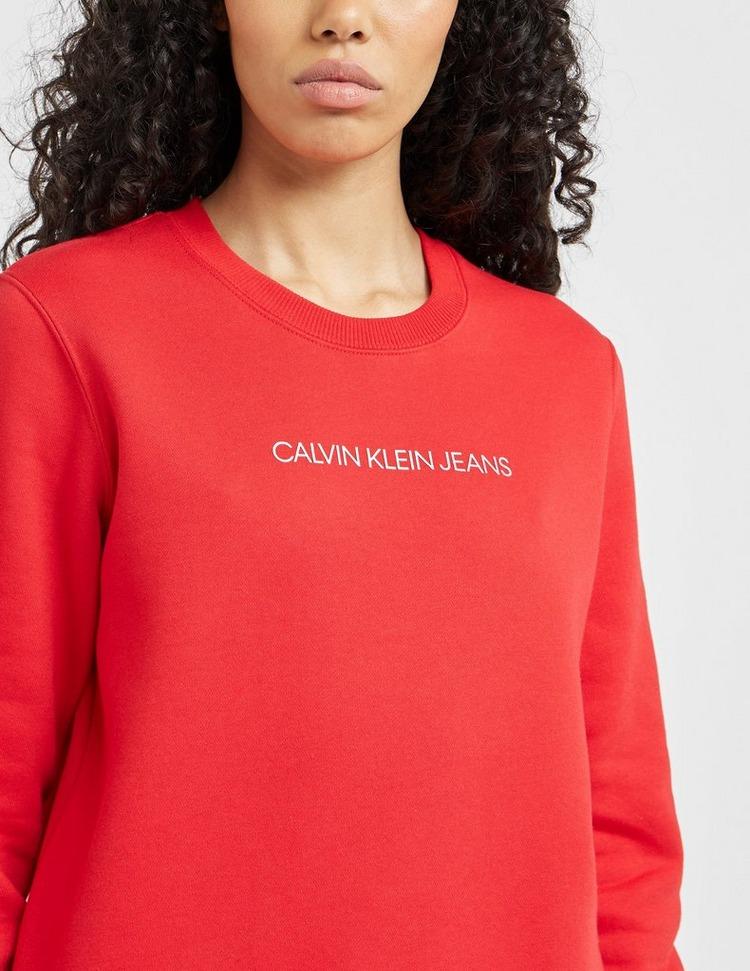 Calvin Klein Jeans Shrunken Institutional Sweatshirt