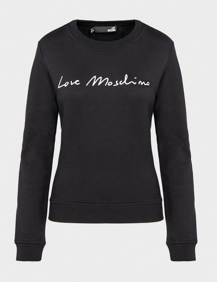 Love Moschino Signature Crew Sweatshirt