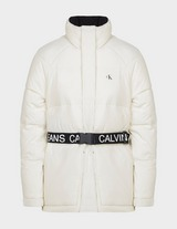 Calvin Klein Jeans Logo Belt Puffer Jacket