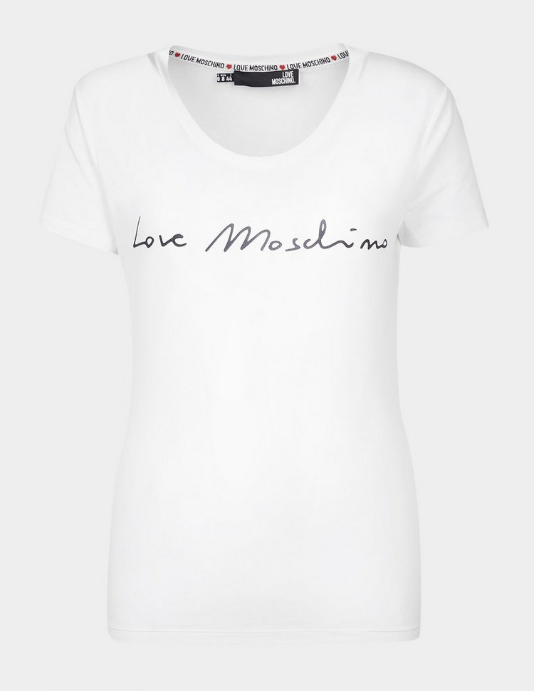 Love Moschino Signature Short Sleeve T-Shirt