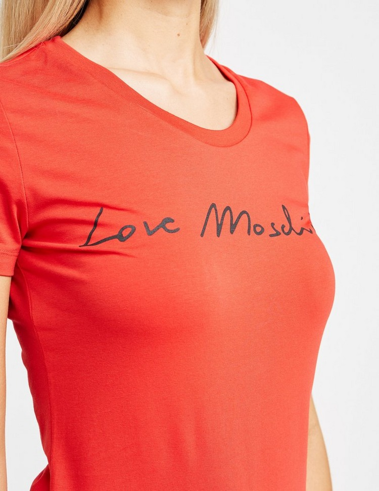 Love Moschino Signature Short Sleeve T-Shirt