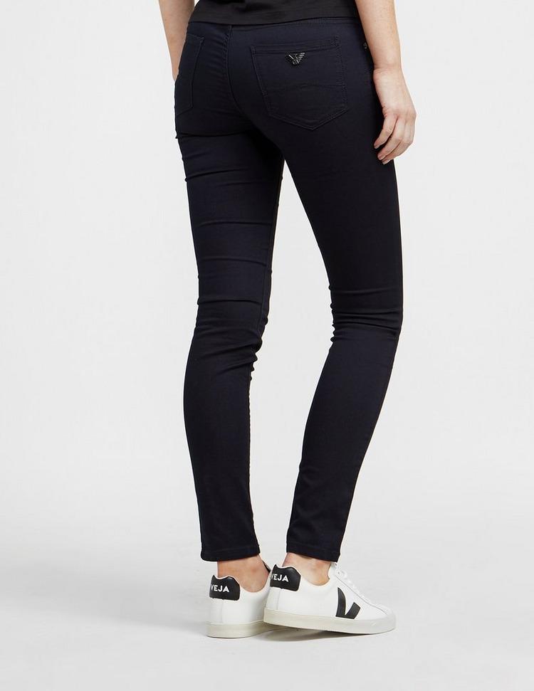 Emporio Armani J28 Mid-Rise Skinny Jeans