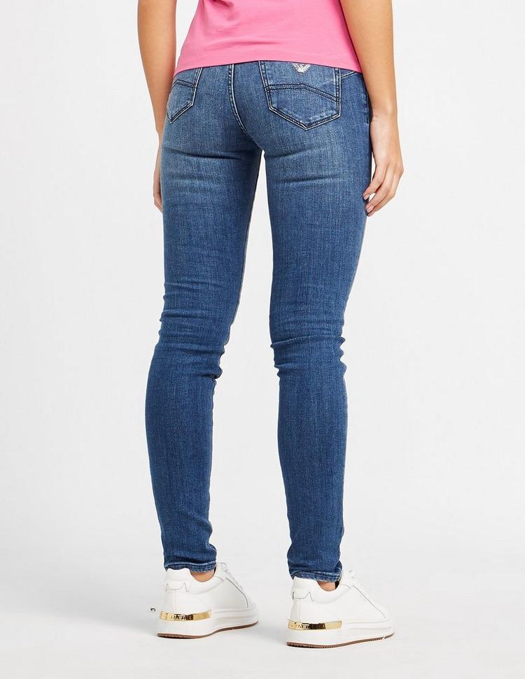 Emporio Armani J23 Mid-Rise Skinny Denim Jeans