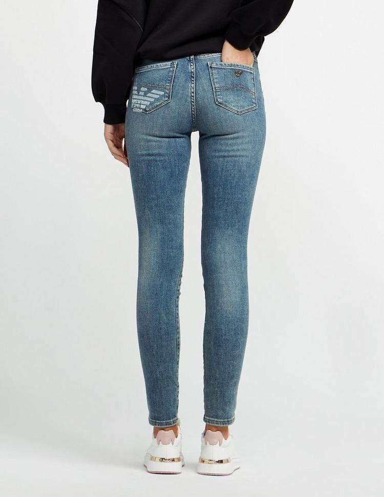 Emporio Armani J20 High Rise Skinny Jeans