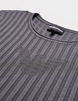 Emporio Armani Loungewear Ribbed Eagle Knit Jumper