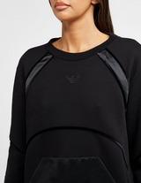 Emporio Armani Contrast Velvet Sweatshirt