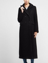 Emporio Armani Long Teddy Coat