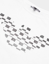 Emporio Armani Eagle Check Print Short Sleeve T-Shirt