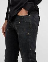 Emporio Armani Paint Splatter J06 Slim Jeans