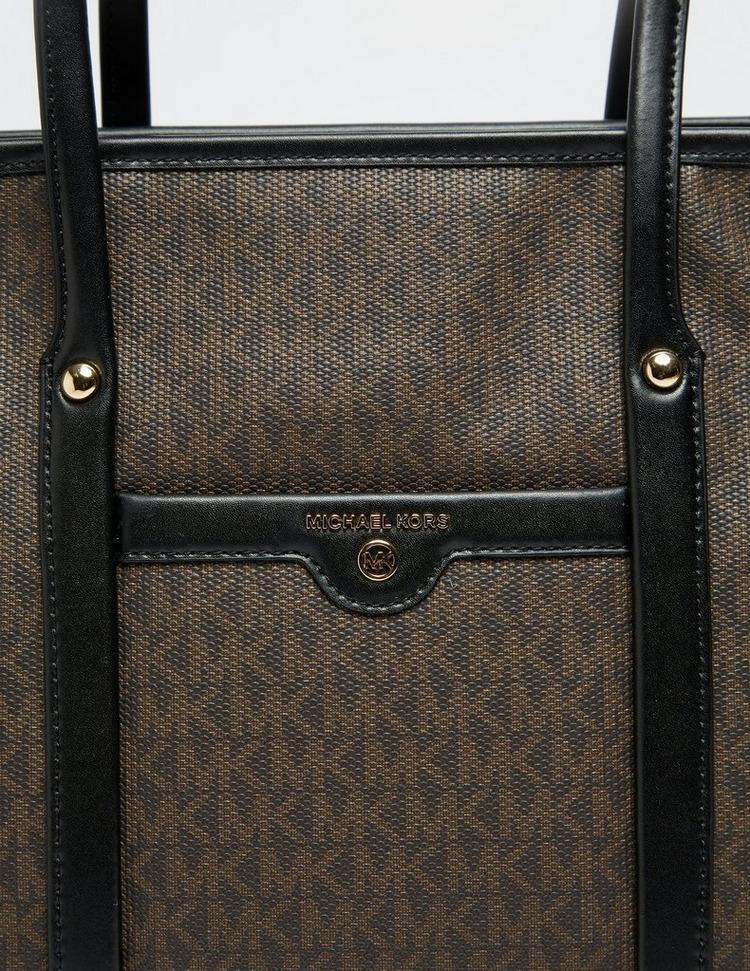 Michael Kors Beck Signature Weekender Tote Bag
