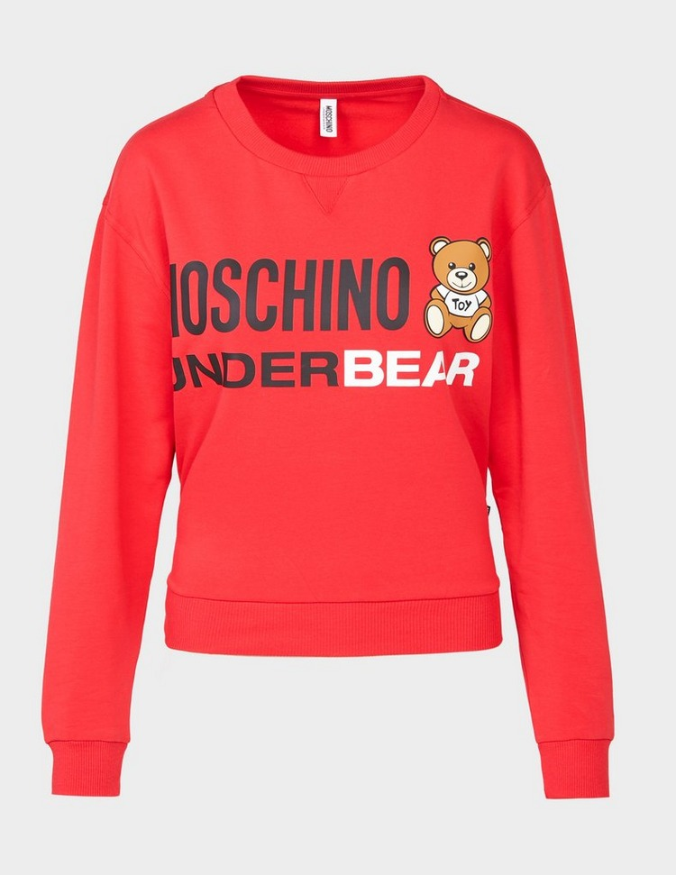 Moschino Under Bear Sweatshirt