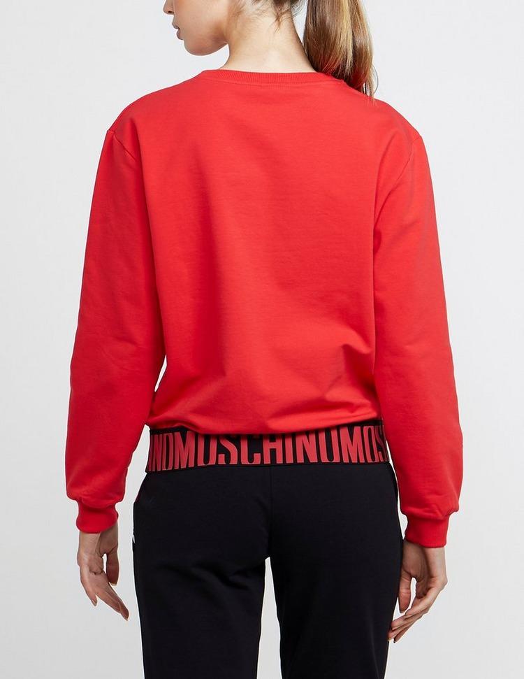 Moschino Elastic Logo Sweatshirt
