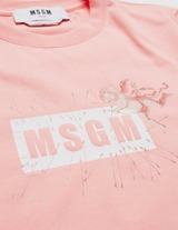 MSGM Cupid Box Short Sleeve T-Shirt