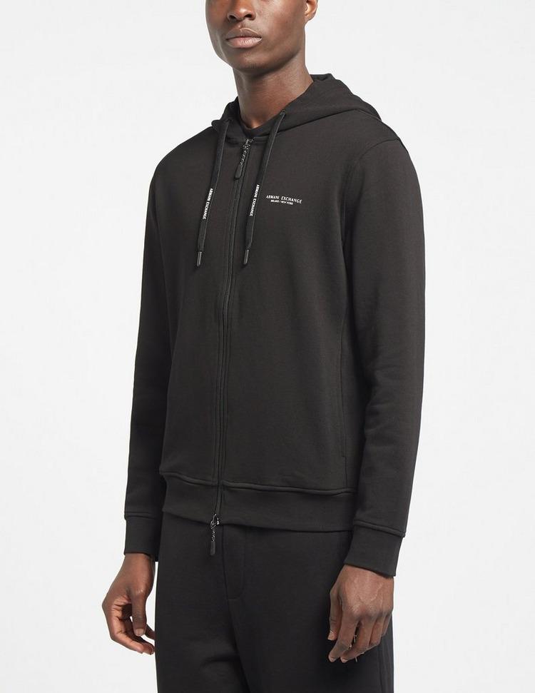 Armani Exchange Core Zip Through Hoodie
