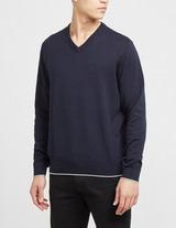 Armani Exchange Core V-Neck Knitted Jumper