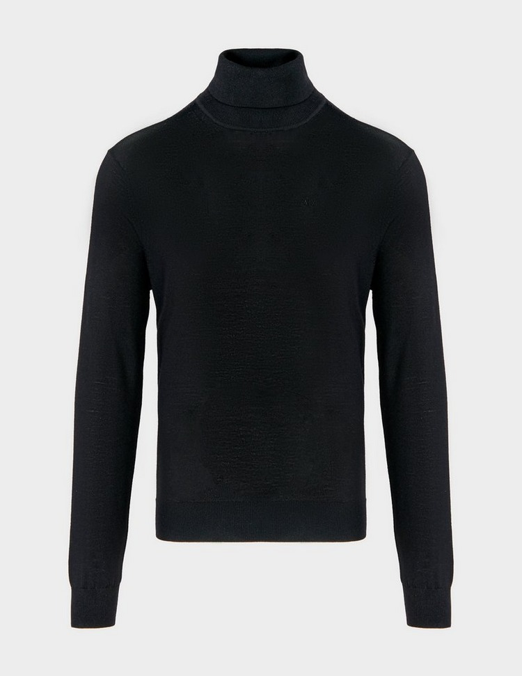 Armani Exchange Core Roll Neck Jumper