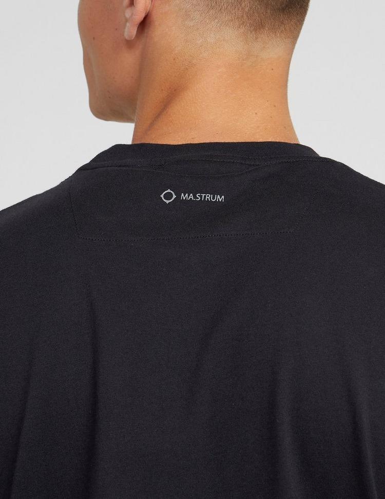 Ma Strum Reflective Logo Short Sleeve T-Shirt