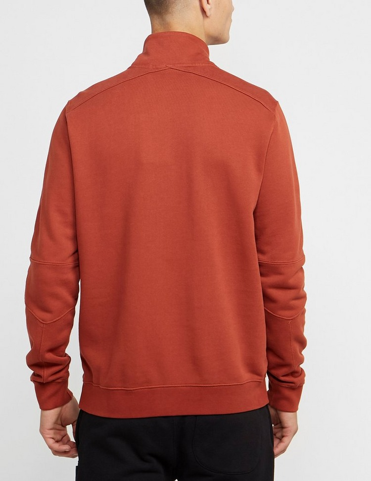 Ma Strum Kangaroo Pocket Quarter Zip Sweatshirt