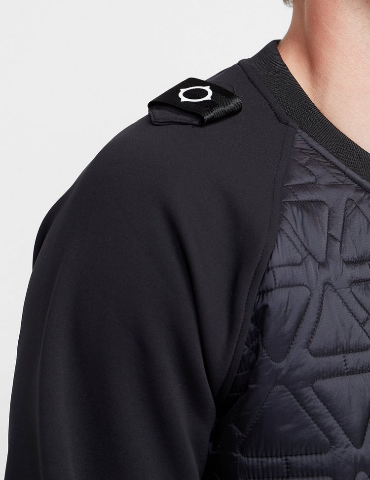 Ma Strum Quilted Panel Sweatshirt