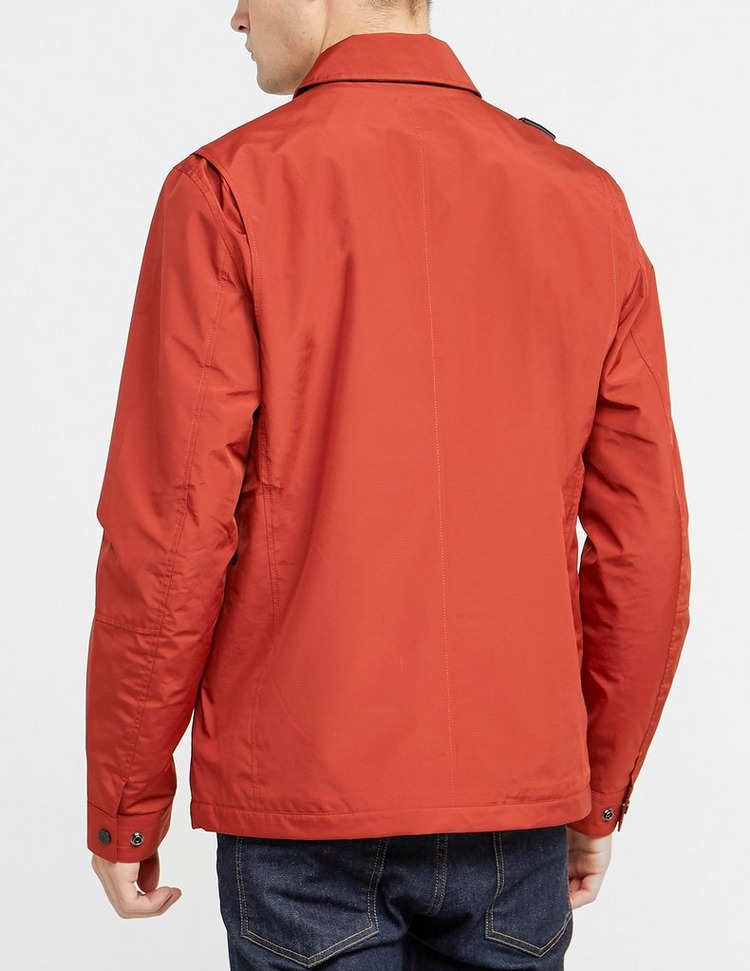Ma Strum Pocket Zip Overshirt