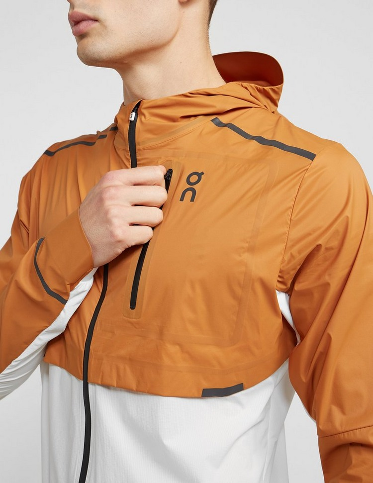 On running Check Pocket Light Jacket