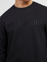 True Religion Embroidered Logo Sweatshirt