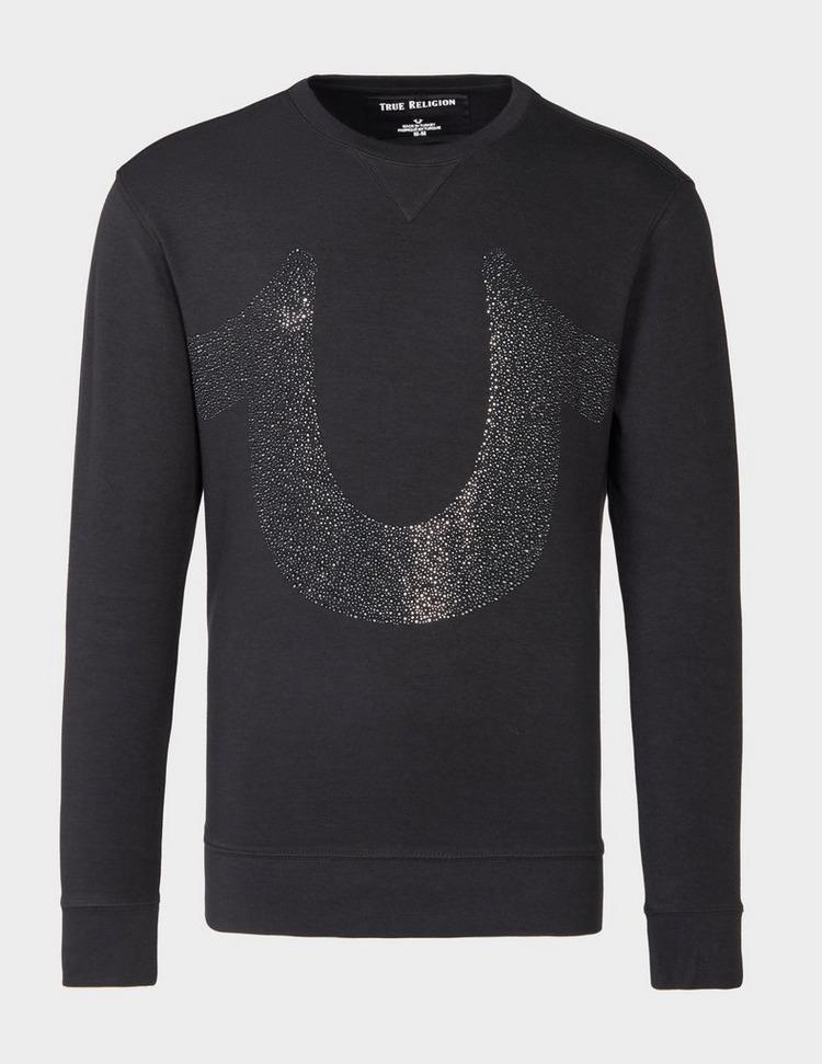 True Religion Black Stone Sweatshirt