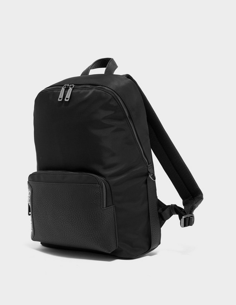 Valentino by Mario Valentino Ben Side Logo Backpack