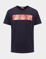 Moncler Enfant Box Logo Short Sleeve T-Shirt