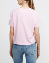 Tommy Jeans Badge Short Sleeve Crop T-Shirt