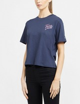 Tommy Jeans Back Logo Crop T-Shirt