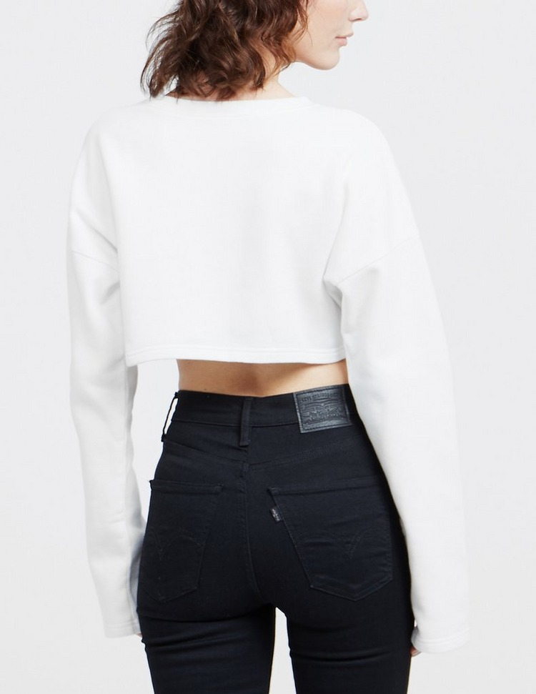 Fiorucci Vintage Angel Crop Sweatshirt