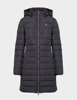 Tommy Jeans Long Quilted Down Jacket