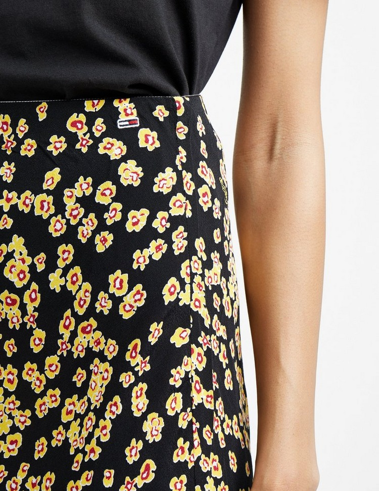 Tommy Jeans Floral Print Skirt