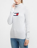 Tommy Jeans Flag Roll Neck Jumper