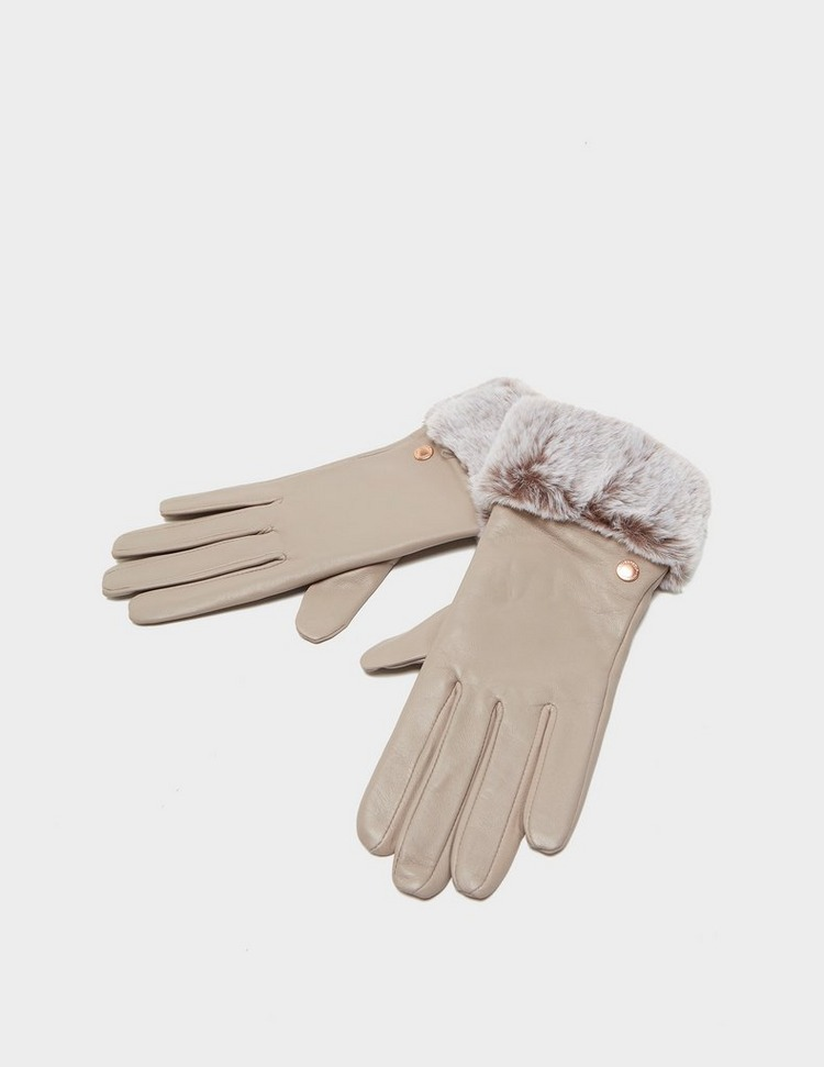 Barbour International Leather Gloves