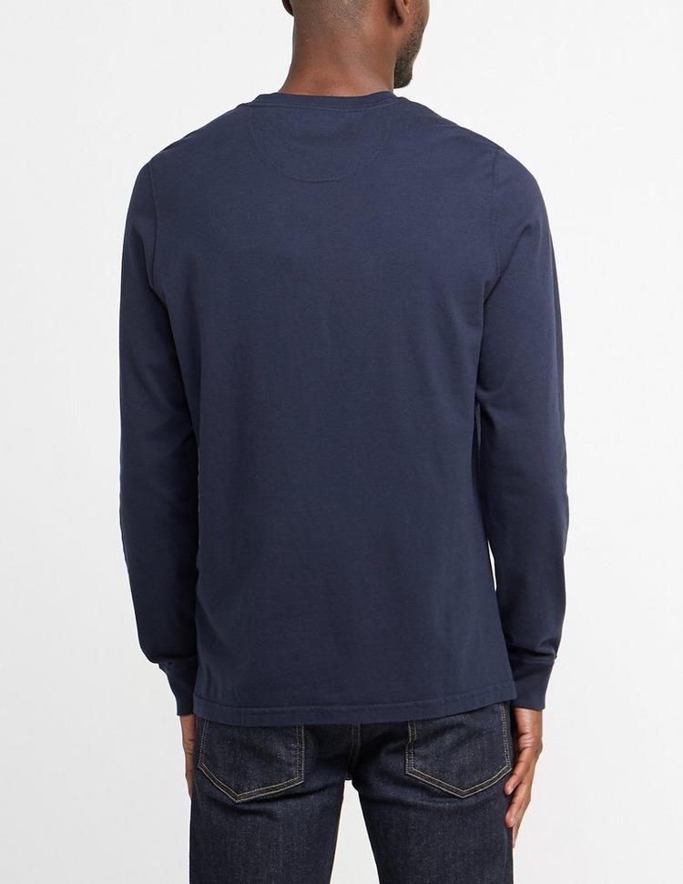 Barbour International Long Sleeve Logo T-Shirt